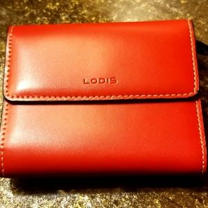 Lodis Audrey RFID Mallory French Wallet.NWOT